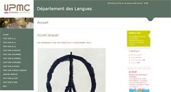 Preview of langues.ent.upmc.fr